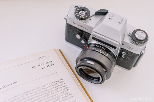 This is the second Leica SLR, the Leicaflex SL.