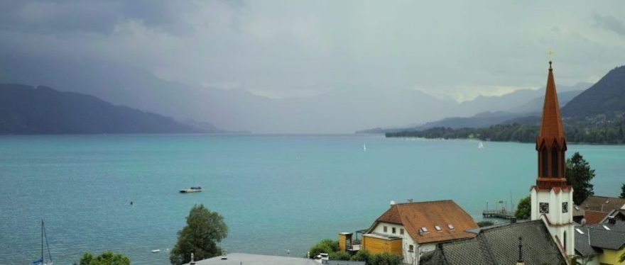 View on Attersee