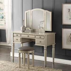 4079-PX Vanity with stool