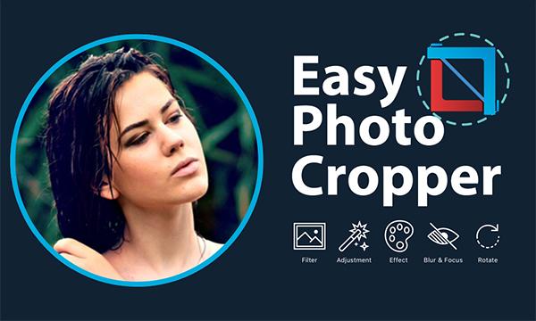 Easy photo cropper app