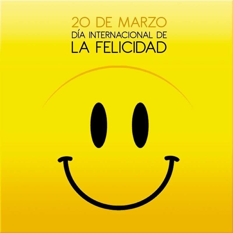 Resultado de imagen de 20 de marzo día internacional de la felicidad