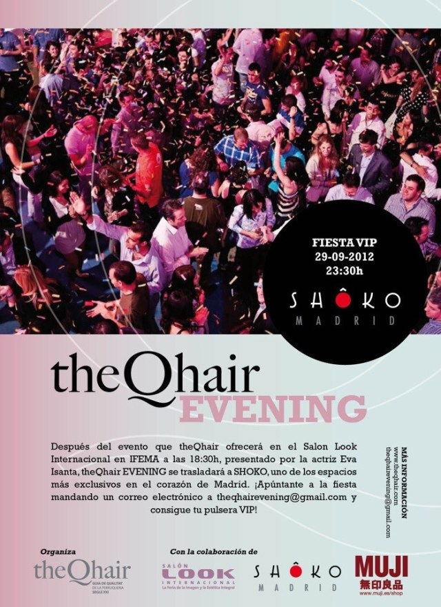 theQhair Evening SHÔKO Madrid