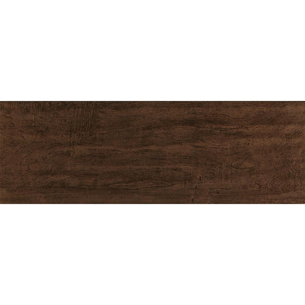 Interceramic Colonial Wood 6 x 20 Walnut
