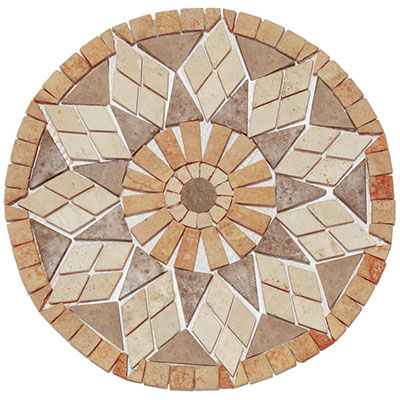 Interceramic Palazzi Medallions Tile & Stone Colors