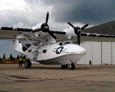 Rollout of a beautiful new Catalina! 4th June 2005