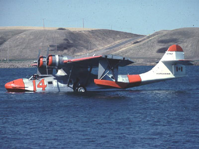 C-FNJF in the colours of Norcanair. This photograph was taken in June 1980 Photo: Tom Singfield Collection