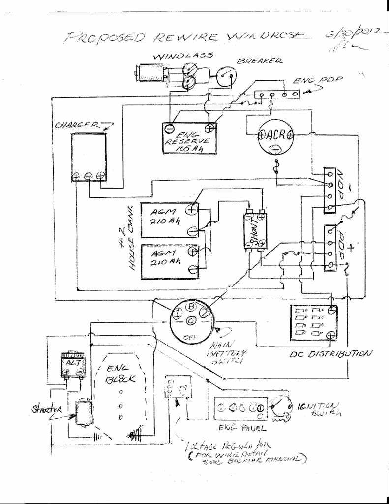 57 Chevy External Voltage Regulator Wiring Diagram
