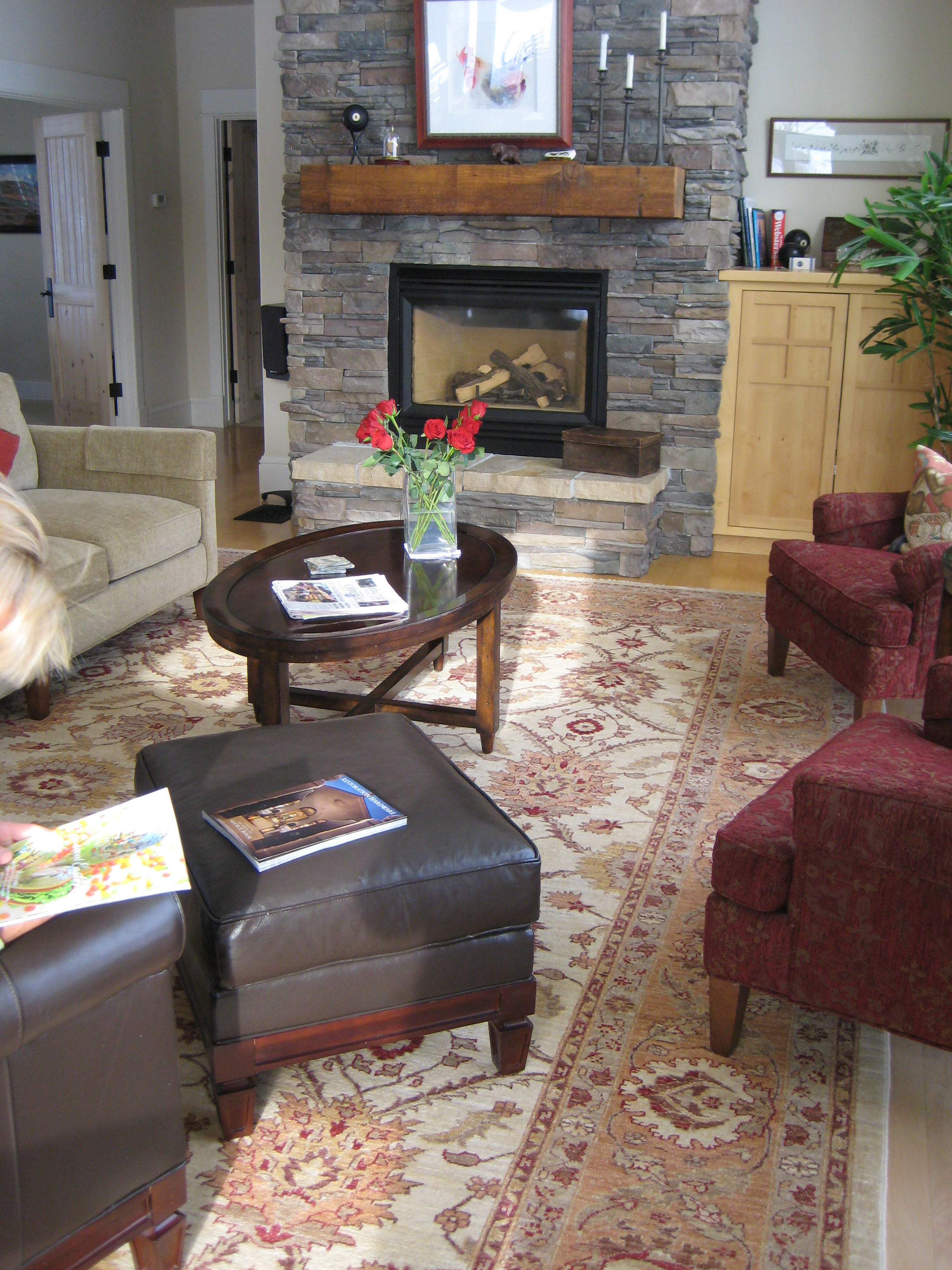 how to choose rug size for living room decorating with brown leather sectional an oriental catalina img 1287