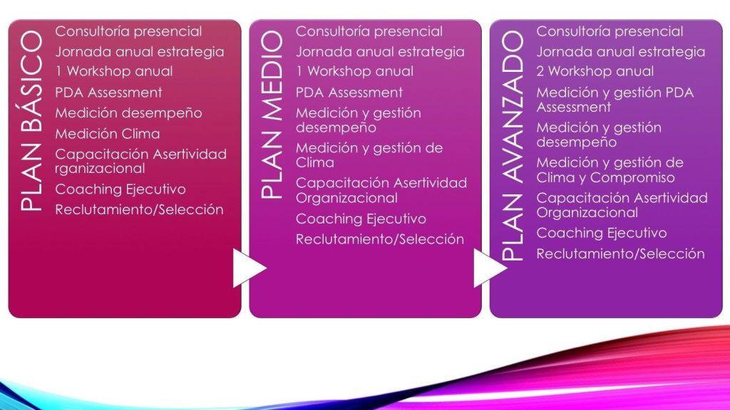 Planes de consultoría
