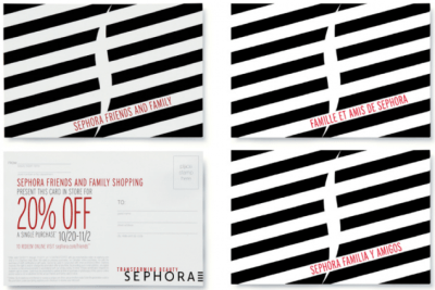 Sephora direct mail