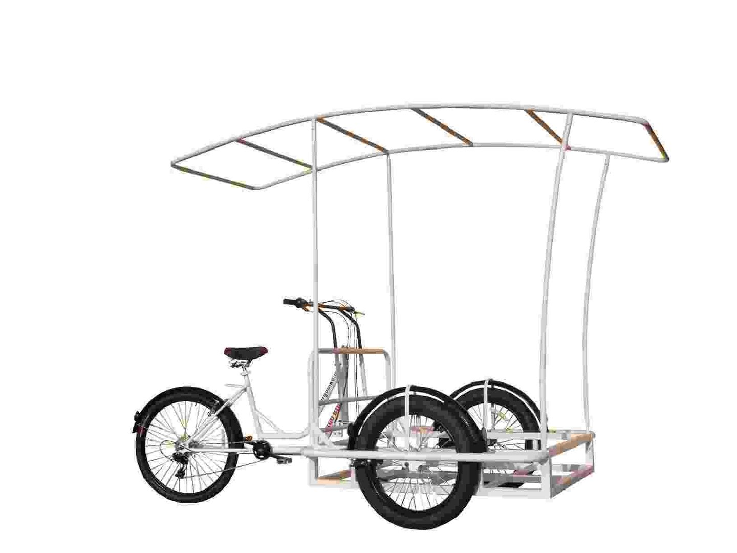 Roma Dlx 7v Work Tricycle Bike Cargo For Make Carts