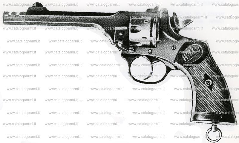 Pistola Adler S.r.l. modello Webley (tacca di mira