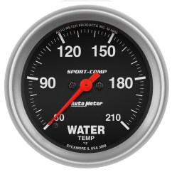 Autometer Temp Gauge Wiring Diagram Seymour Duncan Diagrams 3569 Sport Comp Electric Low Temperature Water