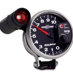 boat gauge wiring diagram for tachometer pro max tach wiring autometer 3699 sport comp ii electric 5 tachometer 0 [ 1500 x 1500 Pixel ]