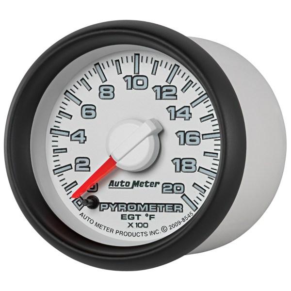 Autometer 8545 Gen 3 Dodge Factory Match Pyrometer Egt Gauge