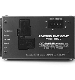 autometer rtd7 reaction time delay box [ 1500 x 878 Pixel ]