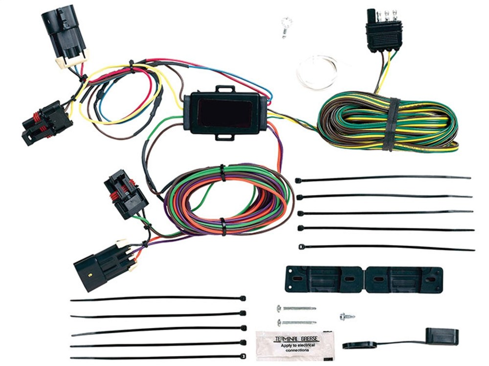 medium resolution of blue ox bx88278 ez light wiring harness kit fits 05 11 cobalt hhr ez light wiring harness kit 4 way flat