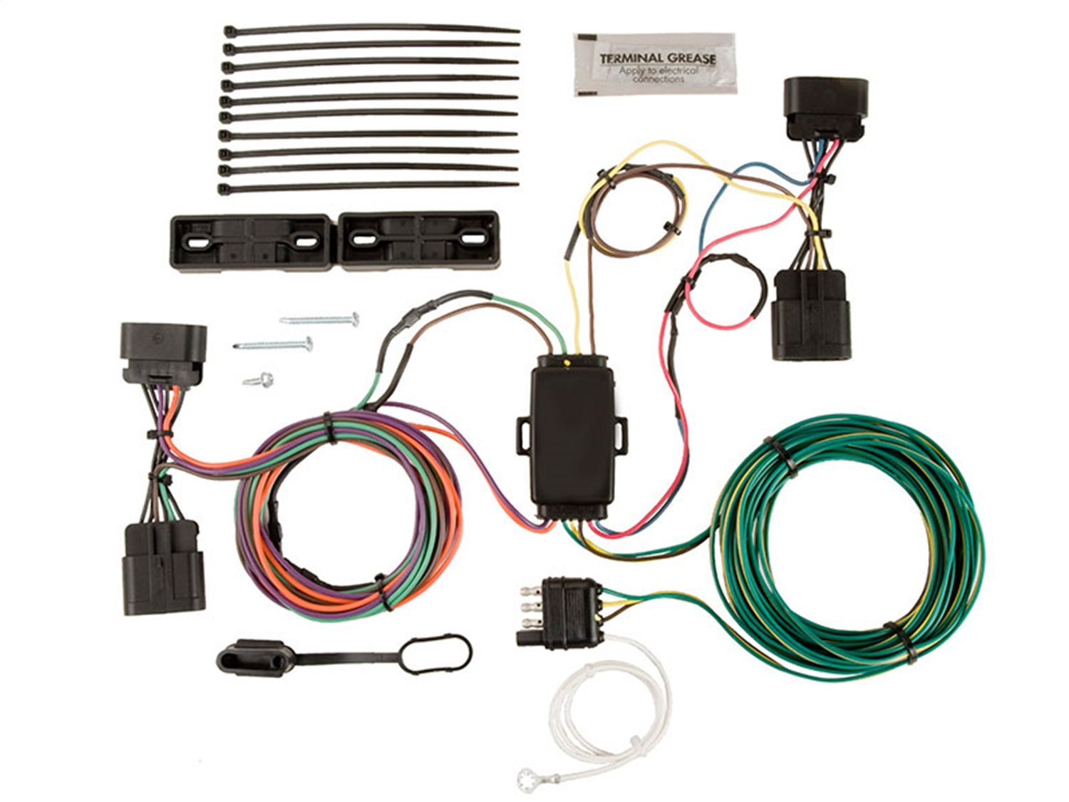 hight resolution of details about blue ox bx88336 ez light wiring harness kit fits 07 14 escalade esv escalade ext