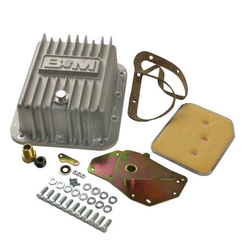 small resolution of b m 50281 transmission oil pan