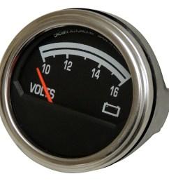 sentinel crown automotive j8126659 voltmeter fits 76 86 cj5 cj7 scrambler [ 1500 x 1403 Pixel ]