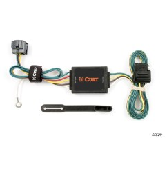 curt manufacturing 55529 replacement tow package wiring ford oem tow package wiring harness tow package wiring [ 1500 x 1500 Pixel ]