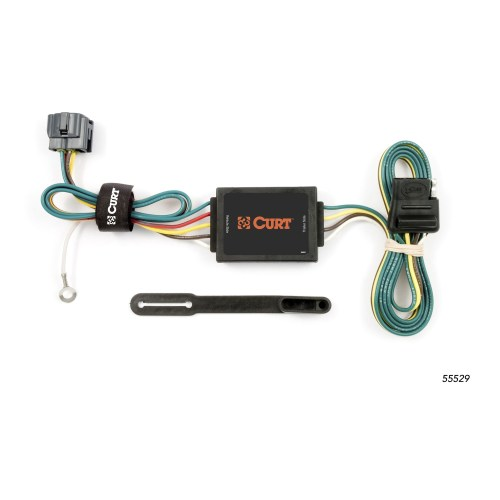 small resolution of curt manufacturing 55529 replacement tow package wiring ford oem tow package wiring harness tow package wiring