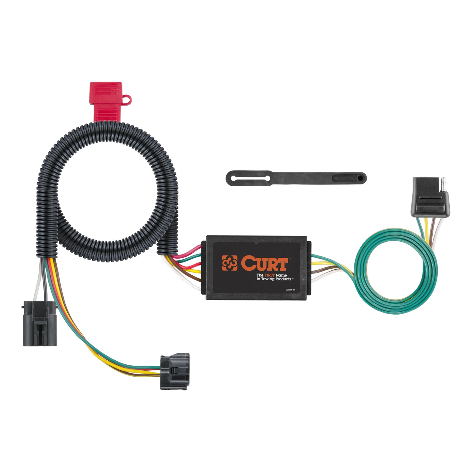 hight resolution of curt 4 way trailer hitch wiring light kit plug n play with trailer hitch wiring diagram