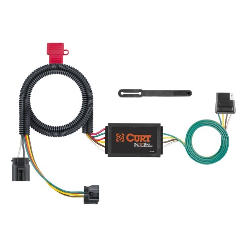 small resolution of curt 4 way trailer hitch wiring light kit plug n play with trailer hitch wiring diagram