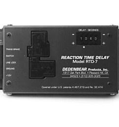 dedenbear rtd7 reaction time delay box 12301000542 ebay dedenbear wiring diagram  [ 1500 x 878 Pixel ]