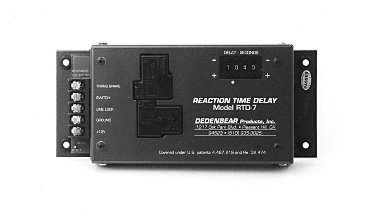 hight resolution of dedenbear rtd7 reaction time delay box 12301000542 ebay dedenbear wiring diagram