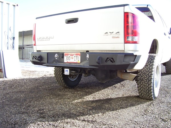 Fab Fours Heavy Duty Bumper 03-09 Ram 2500 Pickup 3500