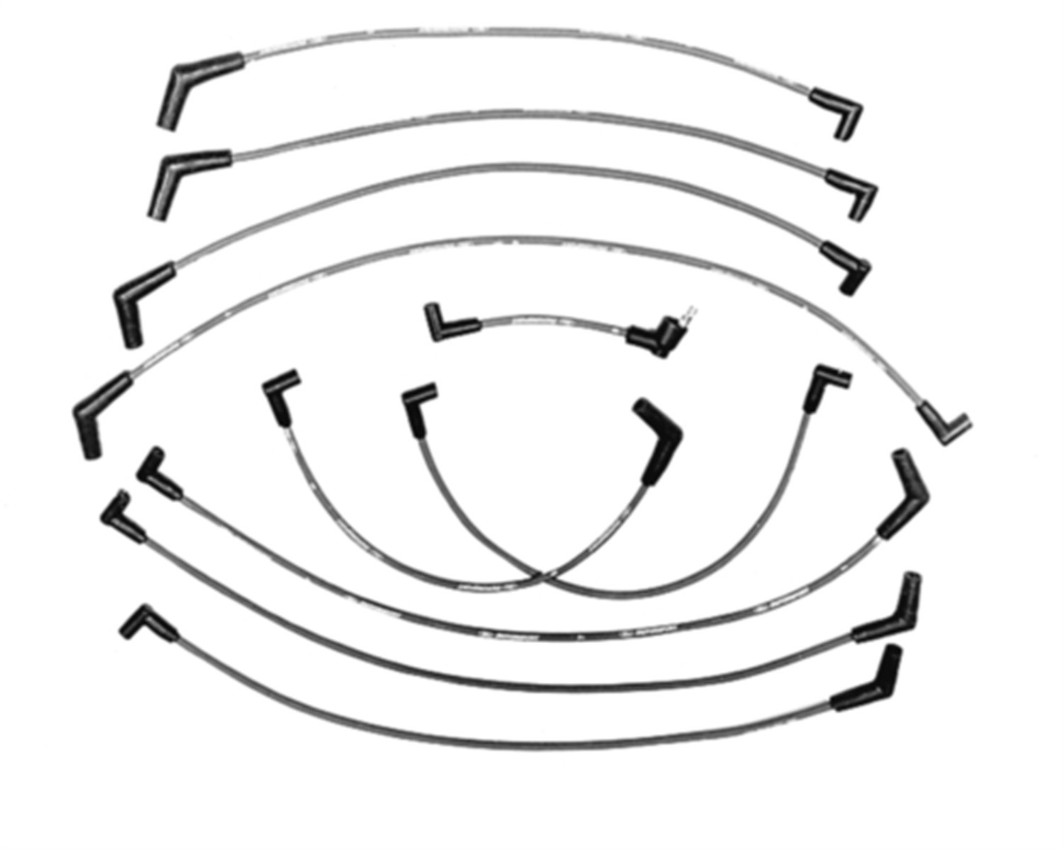 Ford Performance Parts M-12259-C302 9mm Ignition Wire Set