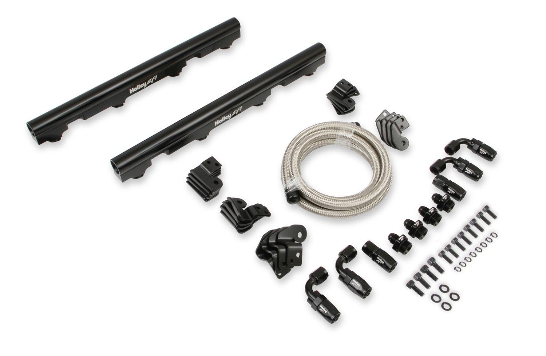 Holley Efi 534 245 Efi Fuel Rail Kit