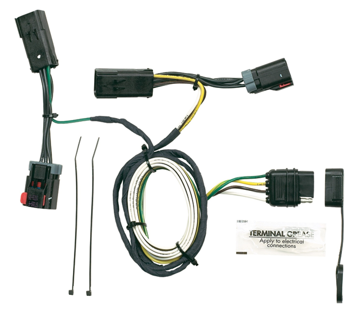 hopkins wiring harnesses towing solutions trailer harness kit 2004 honda civic ac diagram solution 42235 plug in simple vehicle to