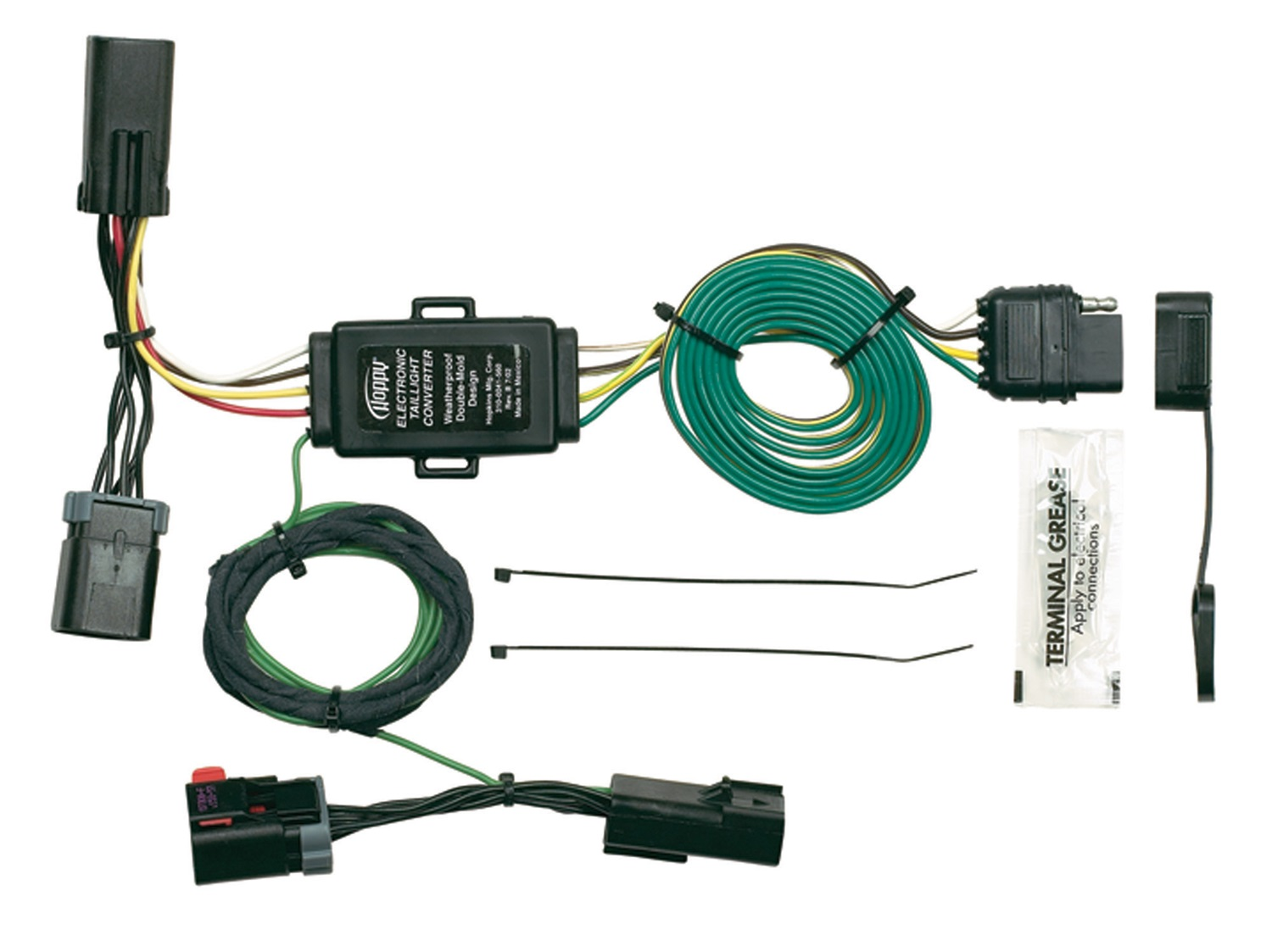 hopkins wiring diagram sun moon and earth buy towing solution 42245 trailer wire connector