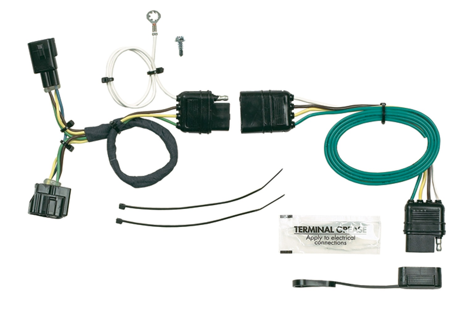 hopkins wiring harnesses towing solutions trailer harness kit 2004 suzuki eiger 400 4x4 diagram solution 42625 plug in simple vehicle to
