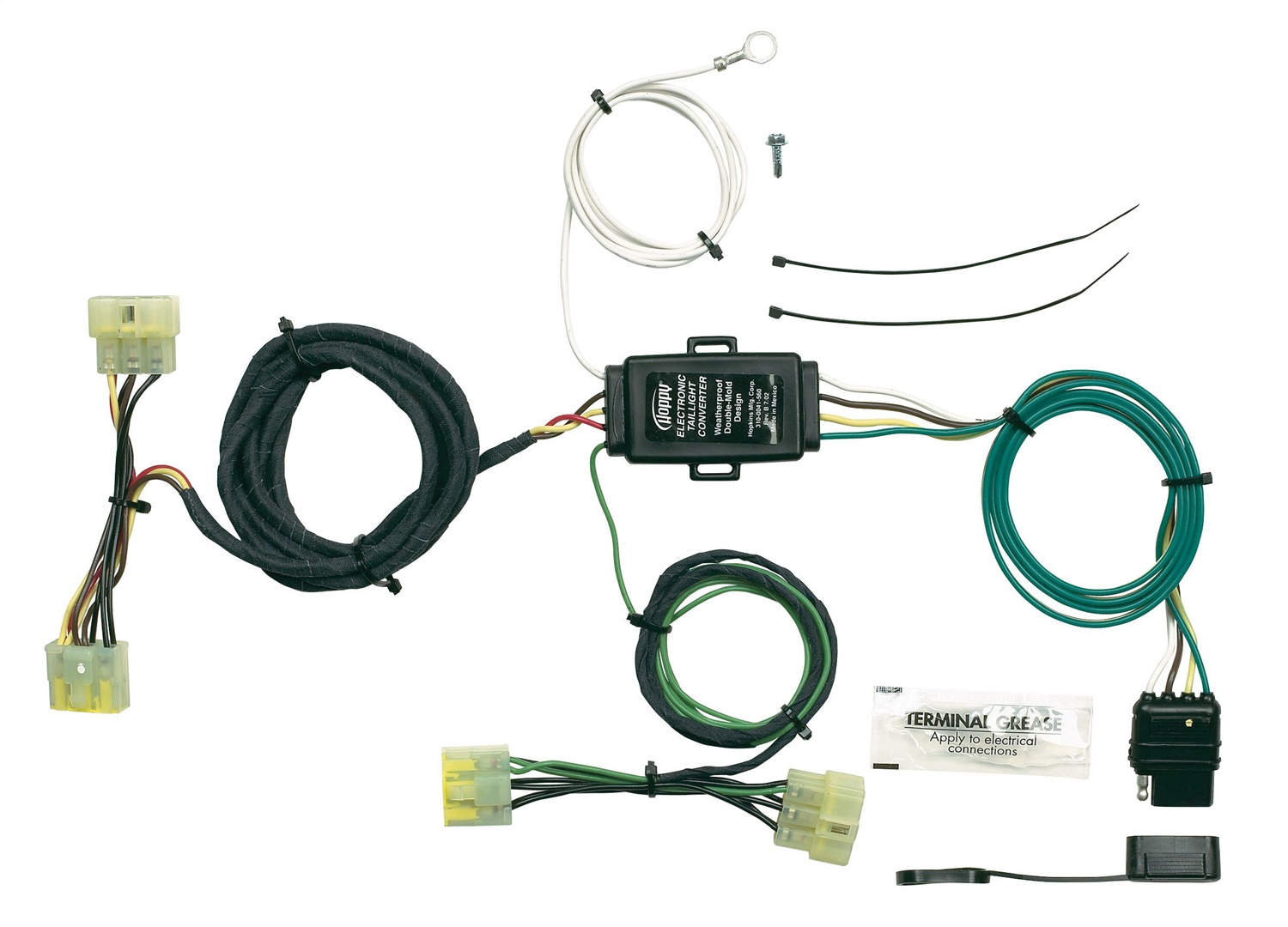 hight resolution of details about hopkins towing solution 43315 plug in simple vehicle to trailer wiring harness