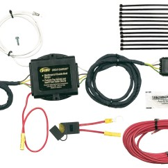 Hopkins Wiring Harnesses Towing Solutions Trailer Harness Kit 2000 Dodge Neon Horn Diagram Solution 43535 Plug In Simple Vehicle To