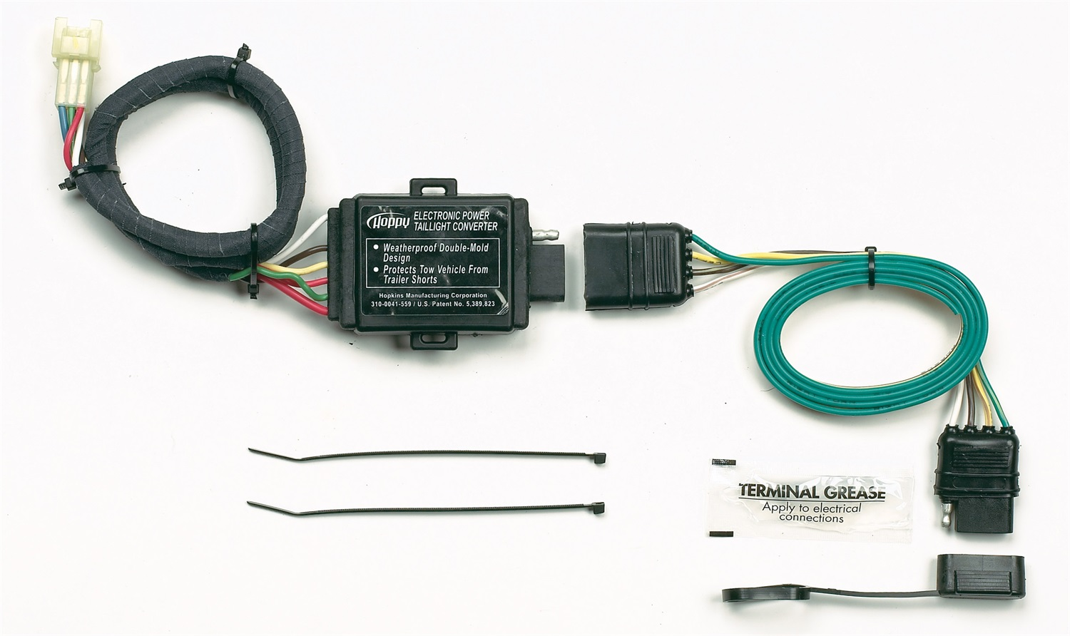 hight resolution of hopkins towing solution 43855 plug in simple vehicle to trailer wiring harness