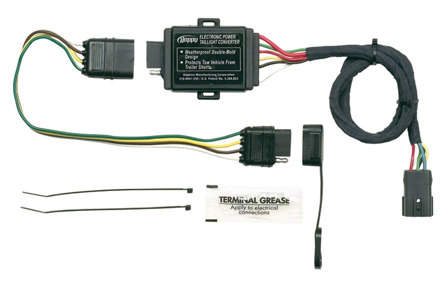hight resolution of hopkins towing solution 11143875 trailer wire harness landscape trailer wiring harness featherlite trailer wiring harness
