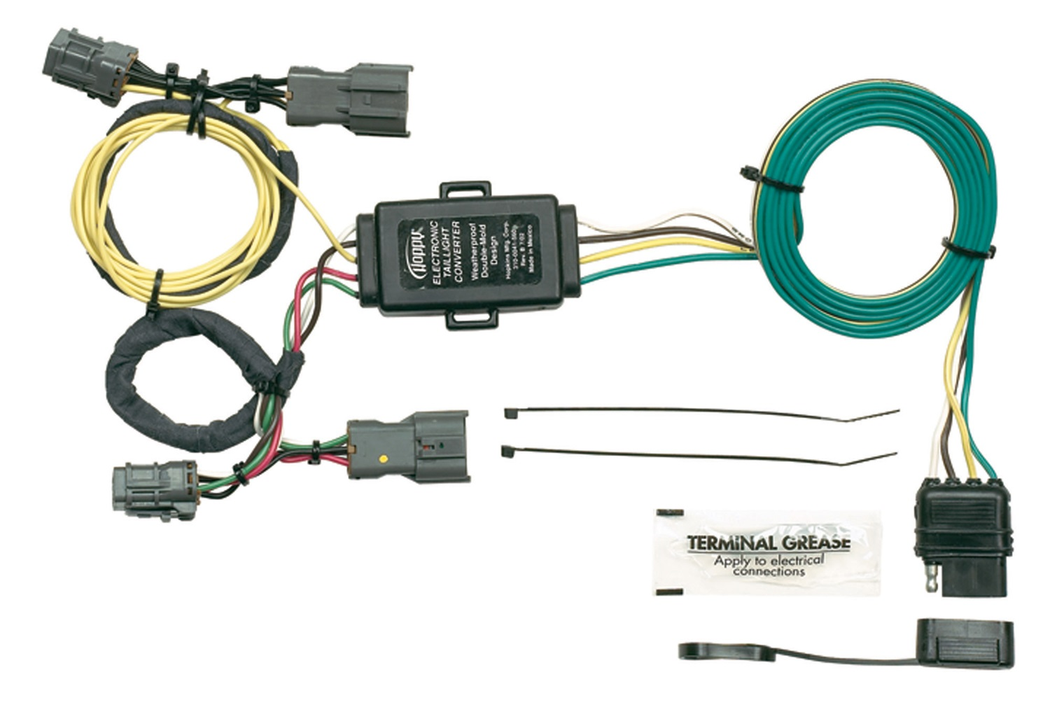 hopkins wiring harnesses towing solutions trailer harness kit animal cell diagram worksheet answers solution 43925 plug in simple vehicle to