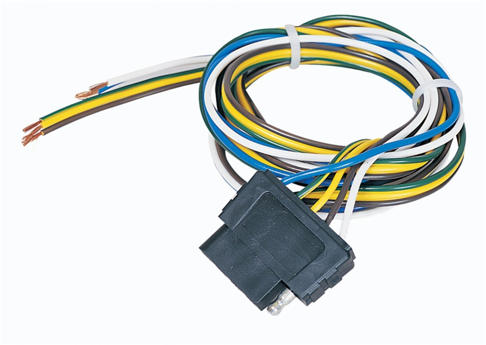 medium resolution of hopkins 47905 5 wire flat connector vehicle to trailer connector