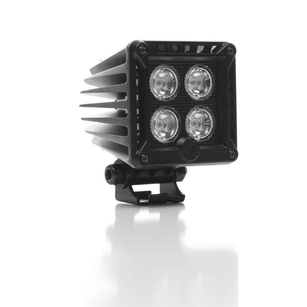 medium resolution of kc hilites 340 kc lzr led cube bumper light system fits 10 14 f
