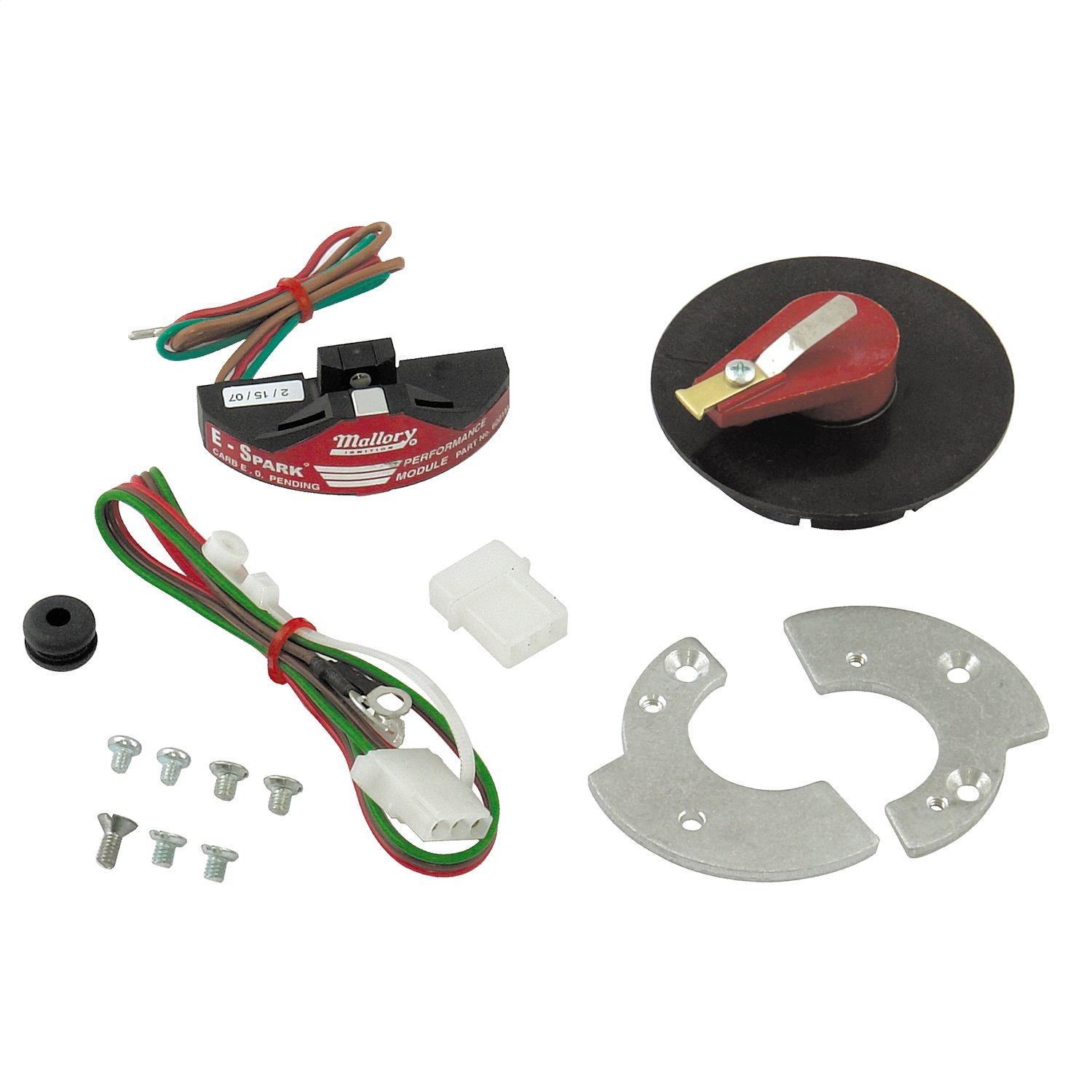 hight resolution of details about mallory 61002m e spark ignition conversion kit
