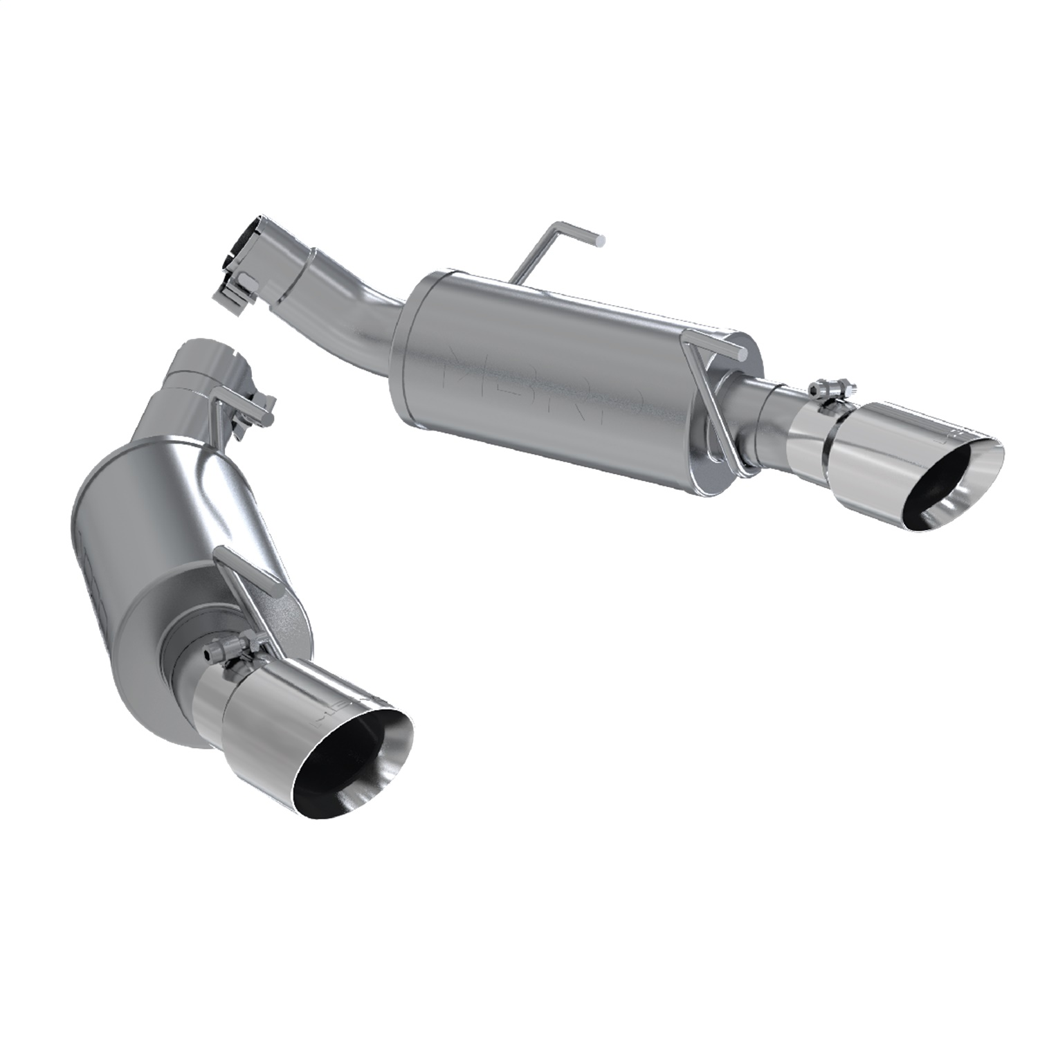 Mbrp Exhaust S Pro Series Axle Back Exhaust System Fits 05 10 Mustang