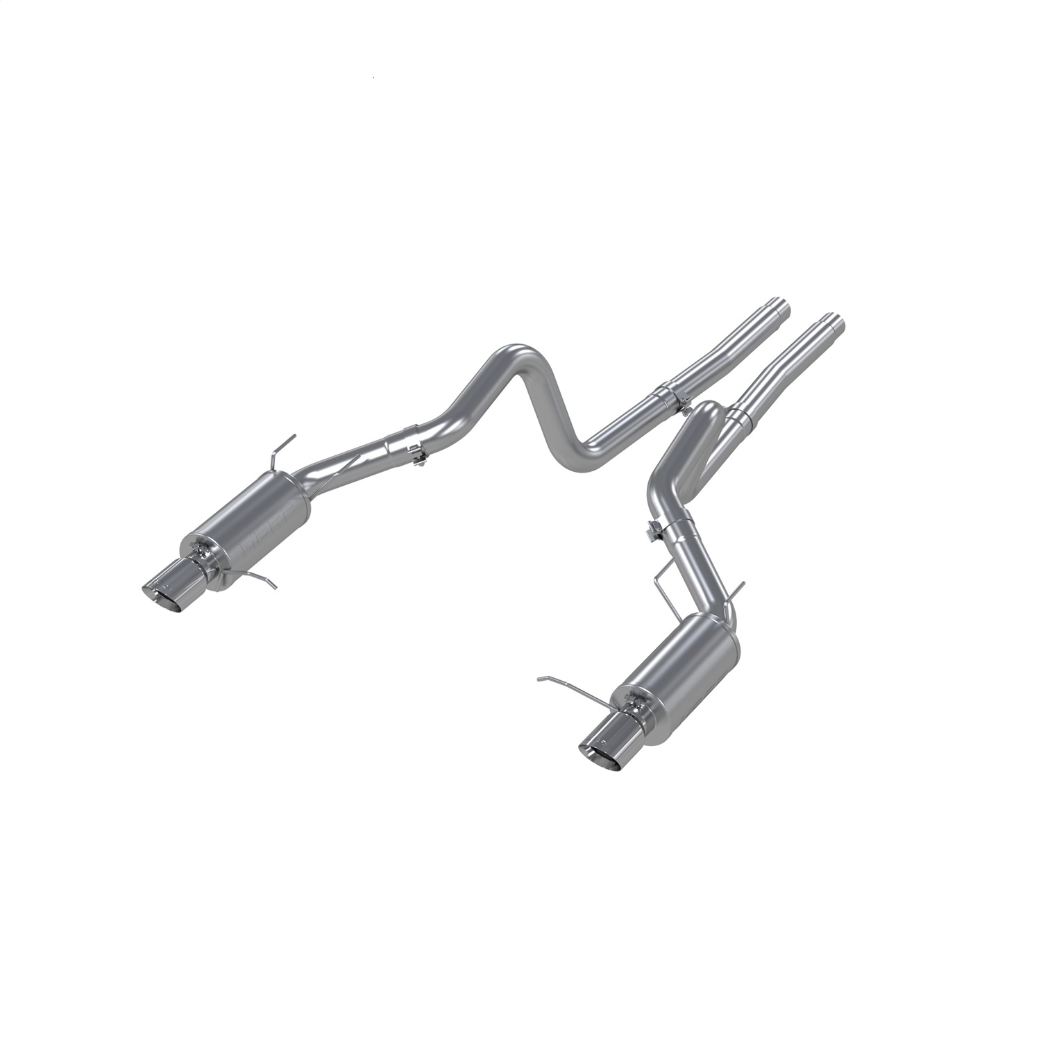 Mbrp 3 Exhaust Ford Mustang Gt 5 0 Cat Back