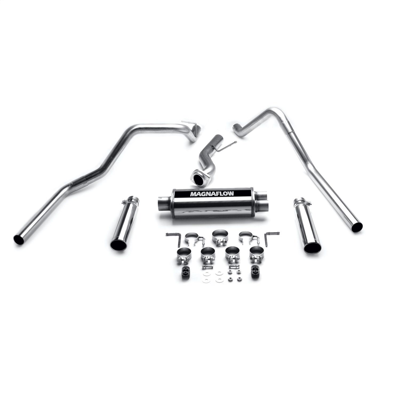 Magnaflow Dual Exhaust for 99-02 Chevy Silverado GMC