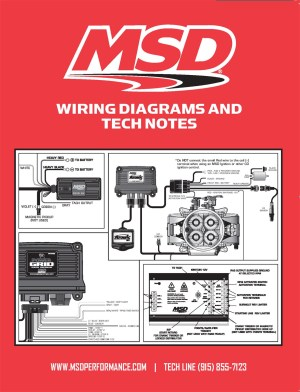 MSD Ignition 9615 Book Wiring DiagramsTech Notes