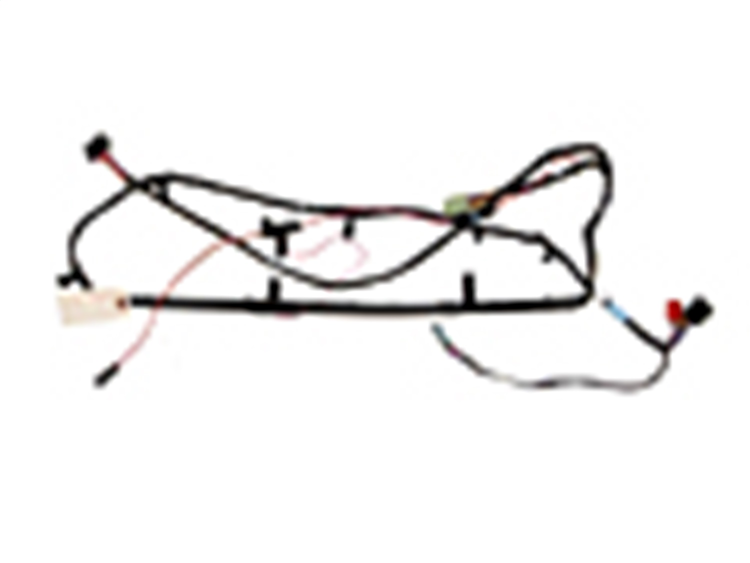 Omix-Ada S-56009963 Overhead Console Wiring Harness Fits