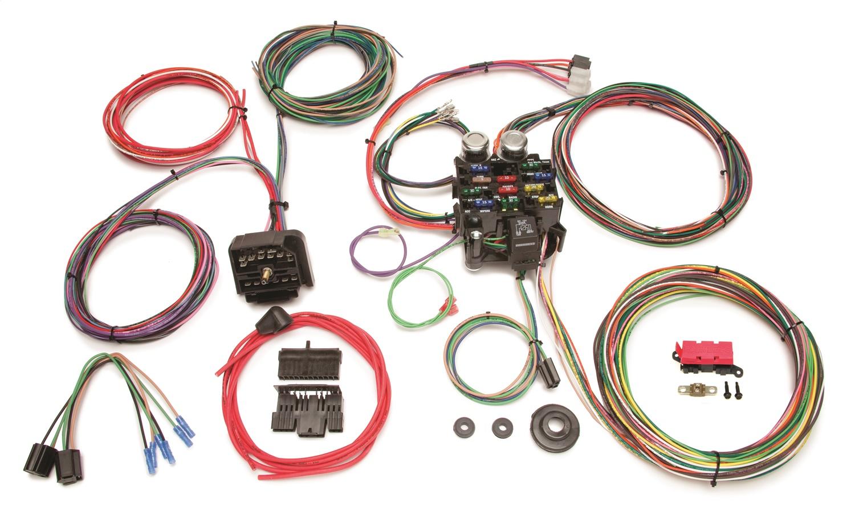 hight resolution of painless wiring 10106 22 circuit classic customizable harness fits cj5 cj6 cj7